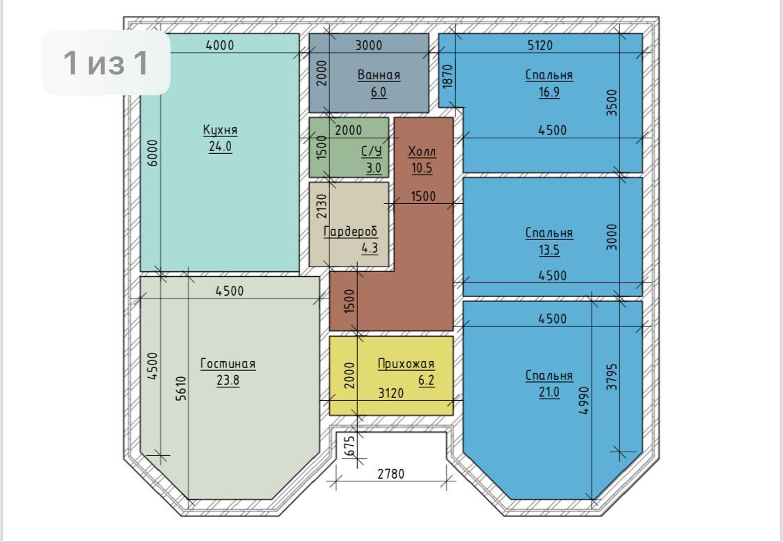 Купить дом в пос.Березовый, 5 соток, Ижс, 130 кв.м, 6 500 т.р.