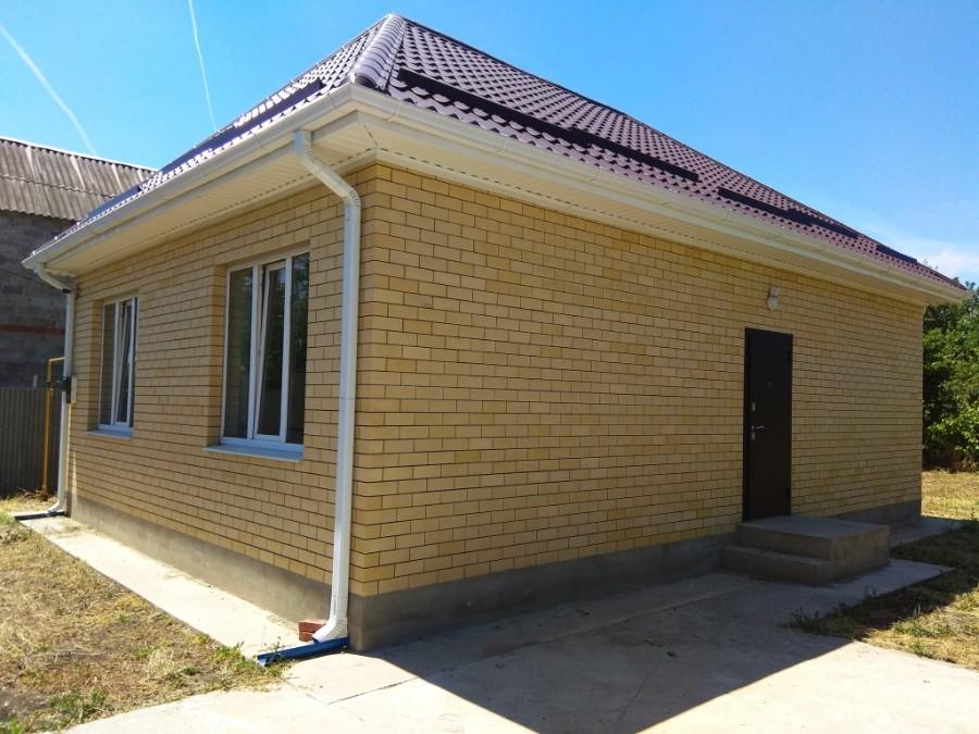 Дом на Ростовском шоссе с газом. 70 кв.м., 3 сот.  Цена 2800 т.р.